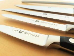 Zwilling Professional S Messerarten und Wetzstahl